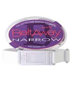 Beltaway Narrow White Women's Belt