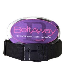 Beltaway Belt in Black stretch belt for women, adjustable belt for women