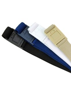 Beltaway2 Square Buckle bundle pack in 4 colors: black, navy, white and sand