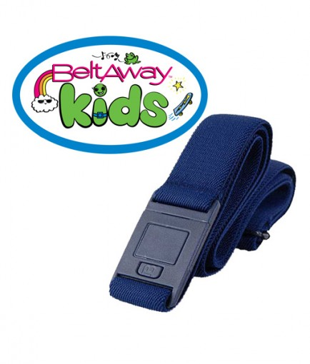 Beltaway Kids belt in denim color