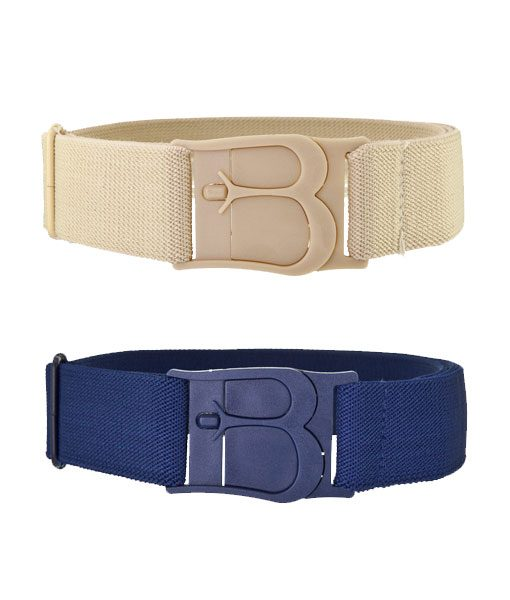 Beltaway Classic in Denim and Sand colors
