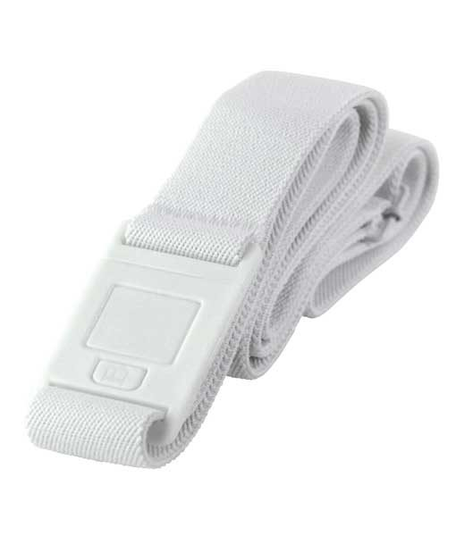Beltaway2 Square Buckle for Men in White