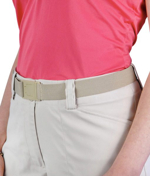Beltaway 2 Square belt in beige
