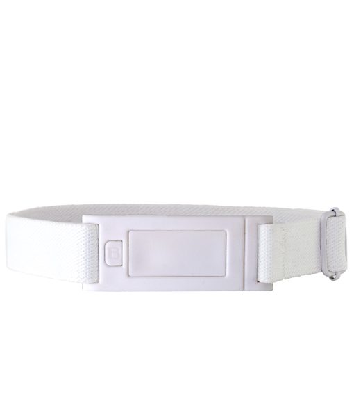 Beltaway Narrow in white for pants with narrow belt loops