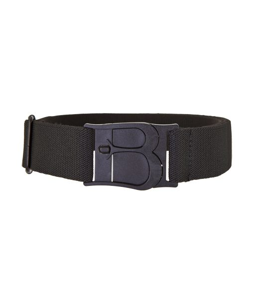 Beltaway Original Flat Buckle No Show Stretch Belt One Size Black