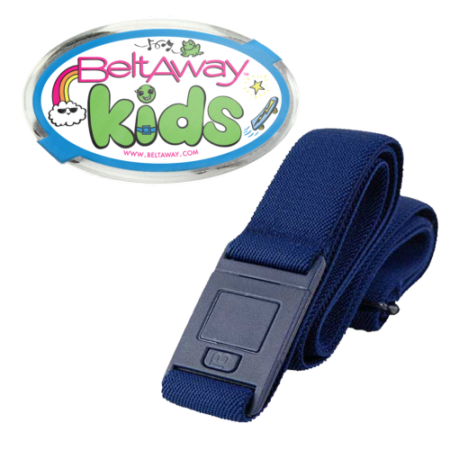 Beltaway Kids Belt In navy blue