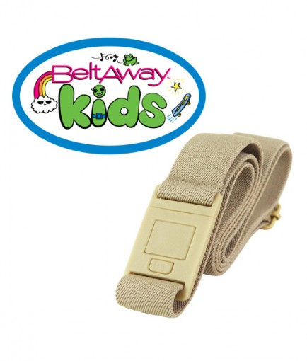 Beltaway Kids belt in sand color
