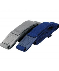 Gray Blue combo beltaway 2 square buckle belt