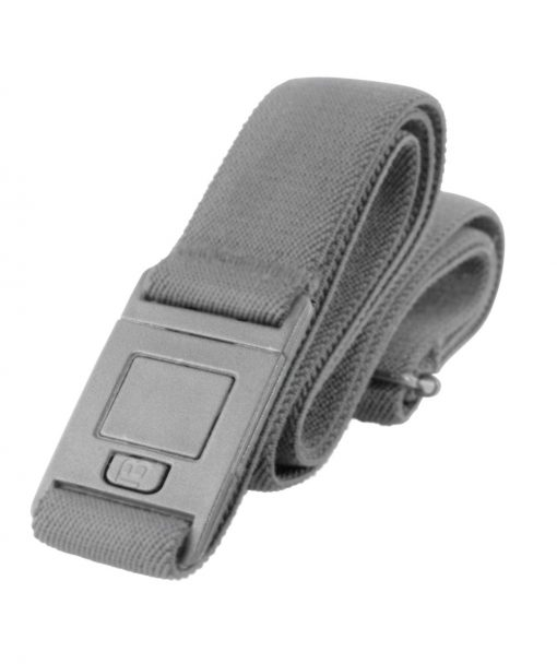 Beltaway 2 Square buckle design in Gray