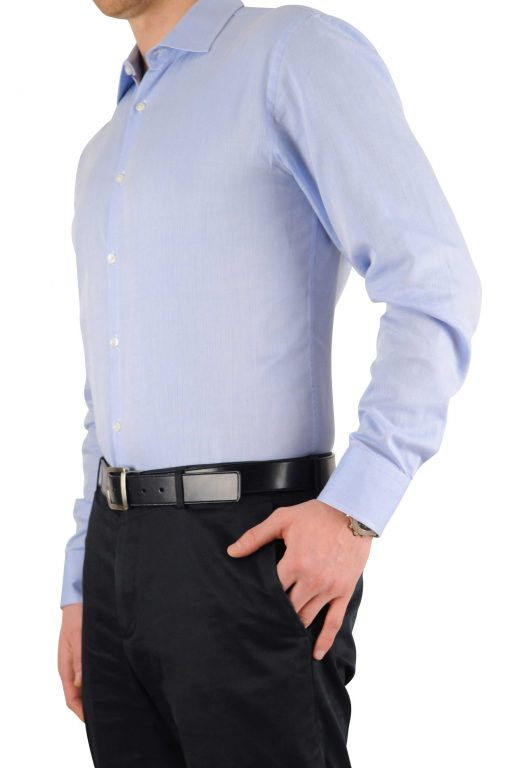 Tuck-N-Stay image of wrinkle free tucked in shirt